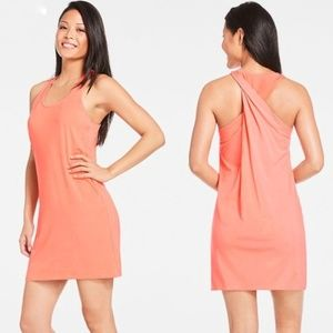 Fabletics Twisted Racerback Melon Pryor Dress